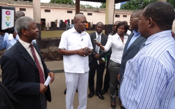 A dep. minister for health visits Accra Psychiatric Hospital_3