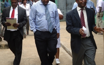 A dep. minister for health visits Accra Psychiatric Hospital_6