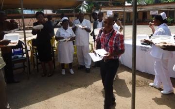 Emmanuel TV donates TV and Food items_8